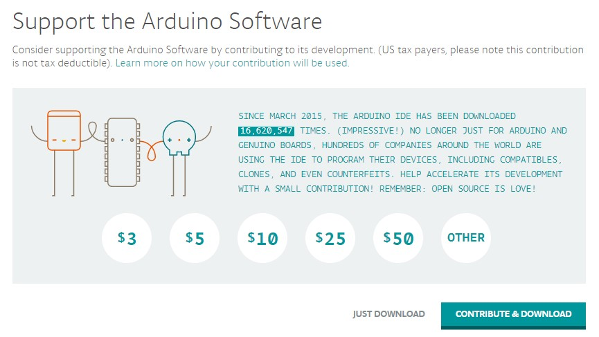 MyBotRobot Web Arduino antes de descarga invitacion a donar