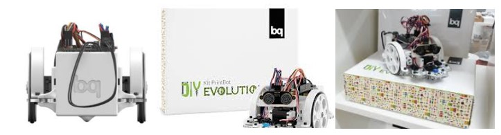 Kit print box de bq en robótica educativ