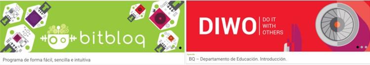 Imagenes de la página bq sobre robótica para niños