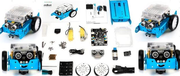 Robot Mackeblock de Arduino para avanzados en robótica para niños