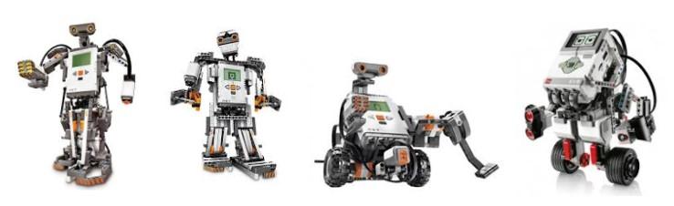 Varios Lego Mindstorms de robotica para niños