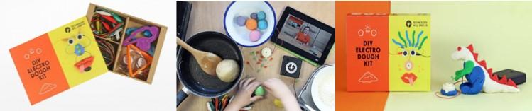 Kit infantil Arduino Electro Dough para comenzar en robótica para niños