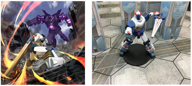 MyBotRobot Juegos de robots de tablero Giga Robo ilustración mechas y miniatura mecha