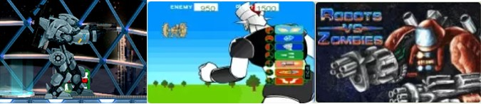 MyBotRobot Juegos de robots gratis on line muestra de tres juegos más