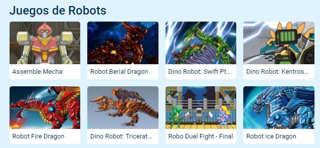 MyBotRobot juegos de robots gratis on line muestra parte de país de los juegos