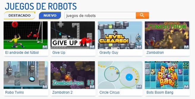 MyBotRobot Juegos de robots gratis online muestra de macrojuegos