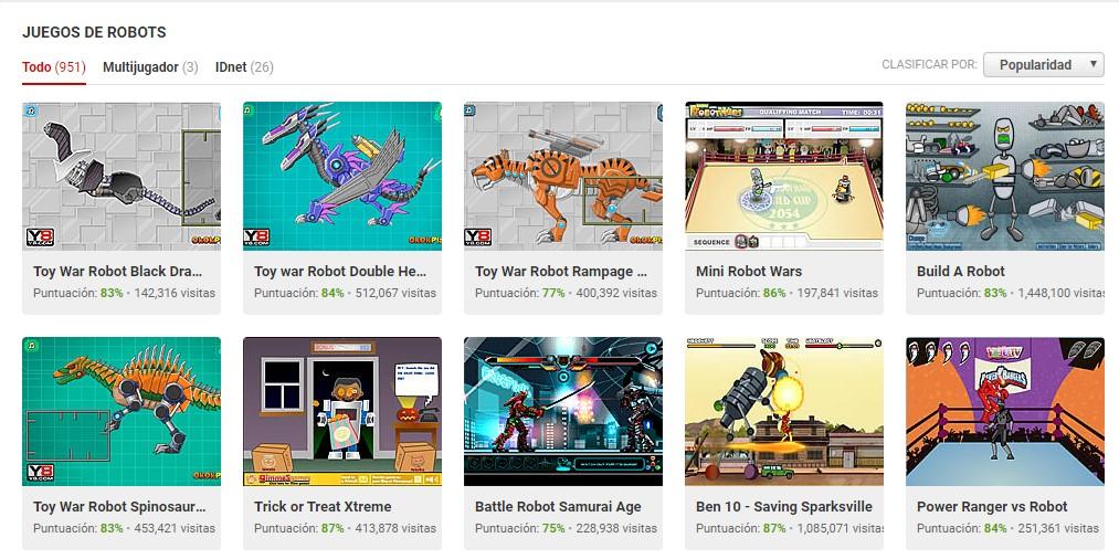MyBotRobot juegos de robots gratis online muestra de juegos de Y8