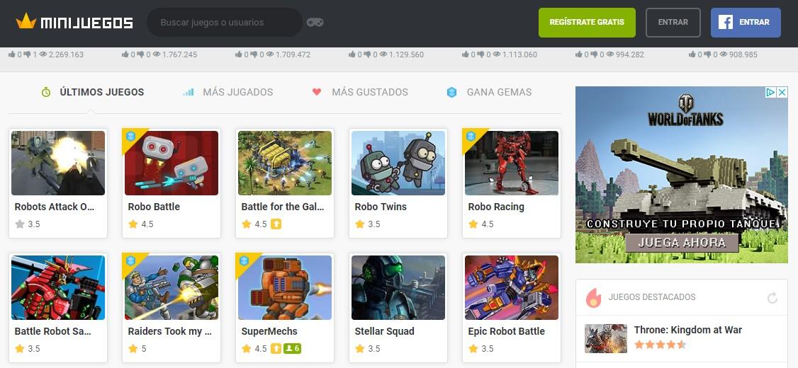 MyBotRobot Juegos de robots gratis online muestra de minijuegos.com