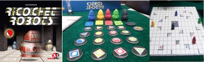 MyBotRobot juegos de robots de tablero Ricochet Robots caja, tablero y piezas