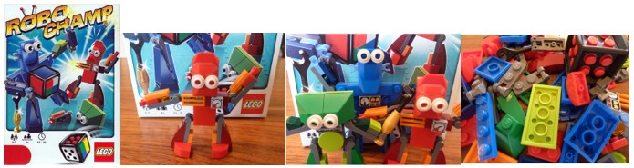 MyBotRobot juegos de robot de tablero Robo Champ de Lego