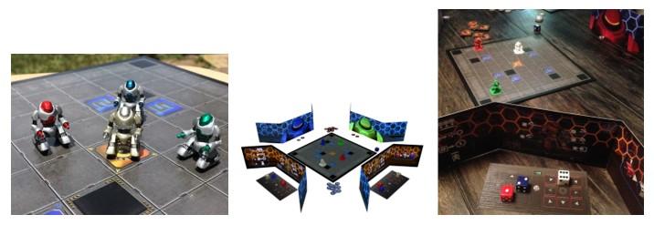 MyBotRobot Juegos de robots de tablero Volt Robot Battle Arena tablero y componentes