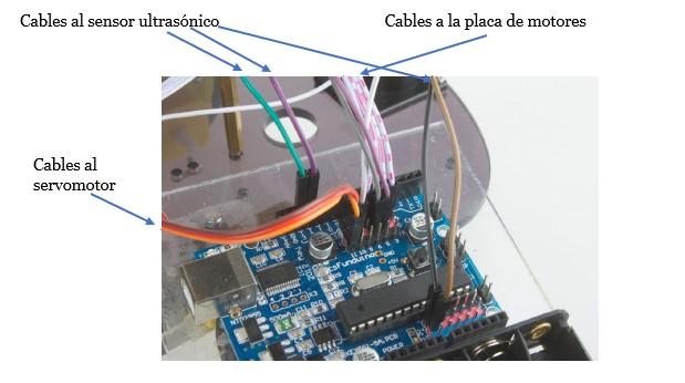 Segunda imagen de cómo van los cables en el kit montaje arduino
