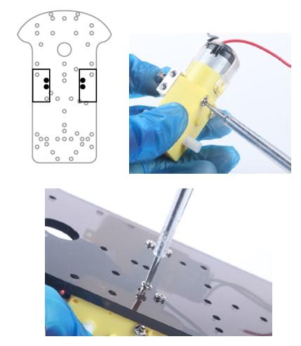 Paso 1 del kit de montaje arduino