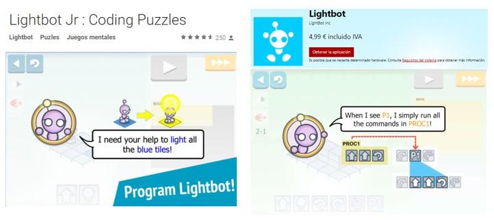 Programación para niños con Lightbot Junior para niños de 4 a 8 años