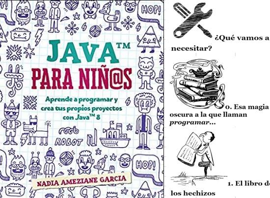 Programación para niños en Java por Nadia Ameziane