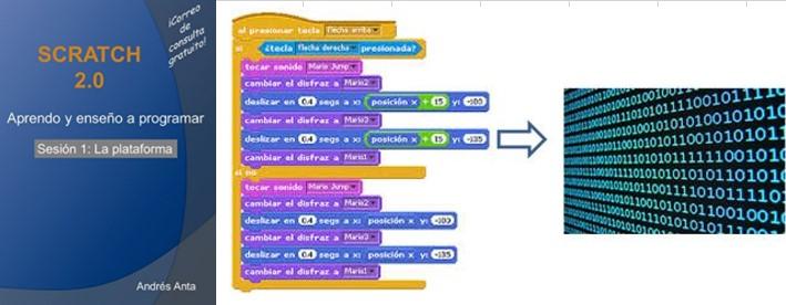 Programación para niños en Scratch por Andrés Anta