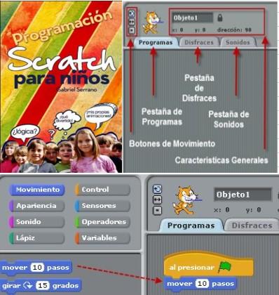 Programación para niños con Scratch por Gabriel Serrano