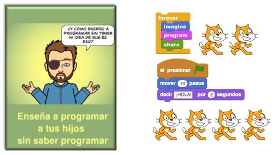 Programación para niños en Scratch por Rufian en la Red