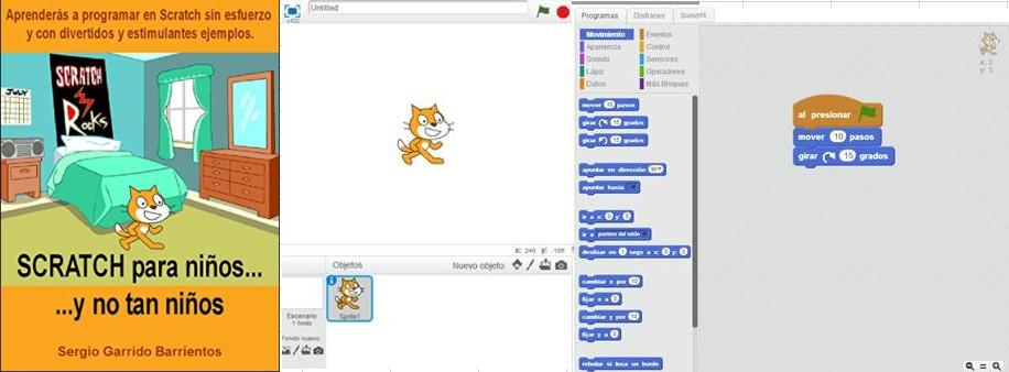 Programación para niños con Scratch por Sergio Garrido