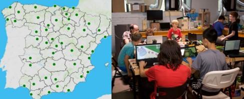 Programación para niños talleres por España