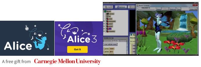 MyBotRobot Imagen programando con Alice