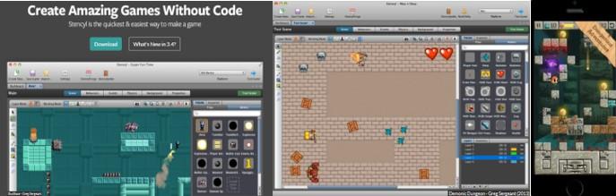 MyBotRobot Imágenes del entorno para programar Stencyl