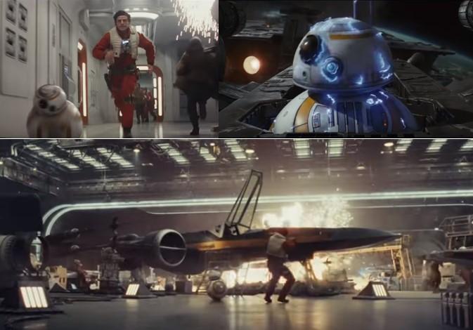Droides Star Wars BB8_Escenas del episodio 8