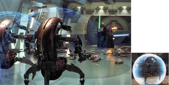 Droides Star Wars Droide de batalla Droideka