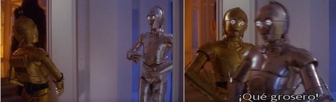 Robot Star Wars E-3PO Droide de Protocolo