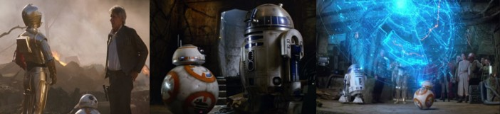 Robot Star Wars R2D2 en episodios 8 y 9