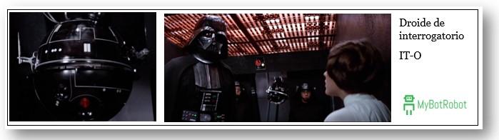 Robots Star Wars Nombres - Droides de Interrogatorio ITO