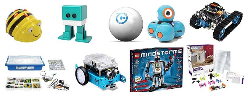 Propuestas de modelos para comprar robots para niños
