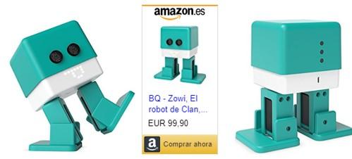 Imagen enlace para comprobar precios y ofertas de Zowi de BQ