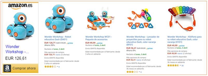 Cómo comprar robots para niños de manera inteligente