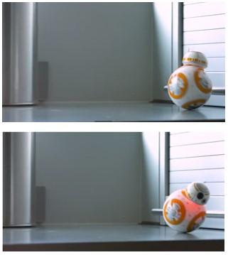 Qué hace BB-8 de Sphero cuando encuentra un obstaculo