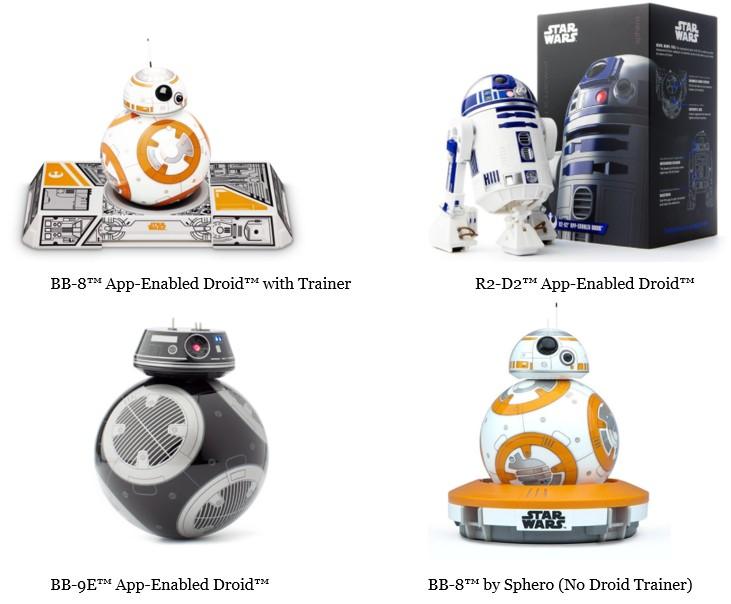 Si quieres comprar BB8 Sphero aqui tienes los 4 mejores robots Star Wars