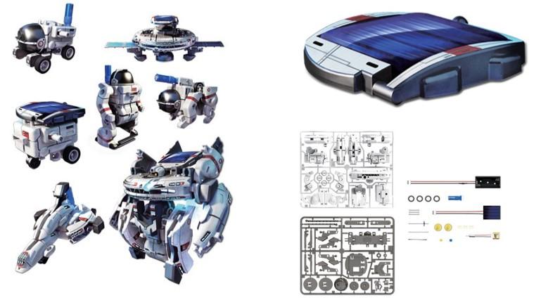Robots Baratos propuesta kit 7x1 EcoSpace