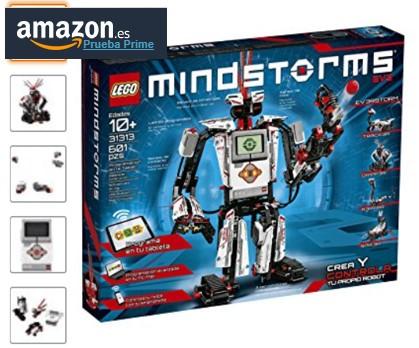 Lego robótica para niños Lego Mindstorms amazon