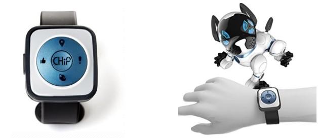Banda inteligente de Chip el perro robot para niños