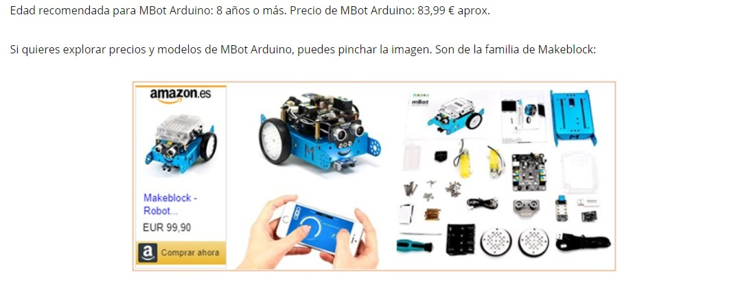 MBot Arduino tiene buenas críticas y puede ser una alternativa a Lego Mindstorms