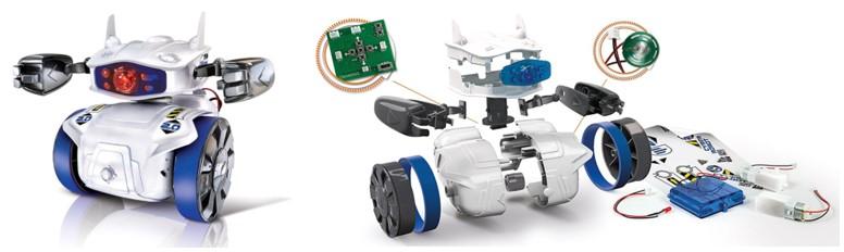 Cyber Robot Clementoni programable y asequible