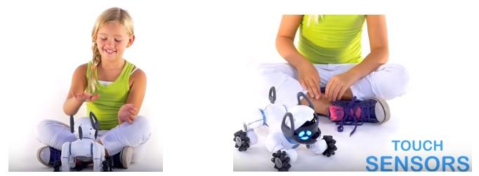 Sensores táctil de Chip perro para niñas
