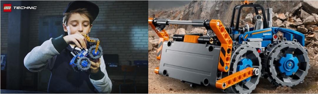 Lego Technics usa piezas que luego se usarán en Mindstorms