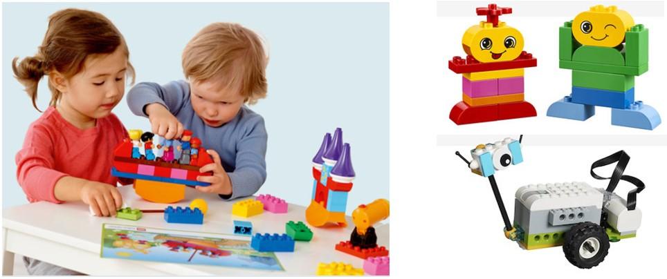 Propuestas Lego Education para niños de 1 a 6 años