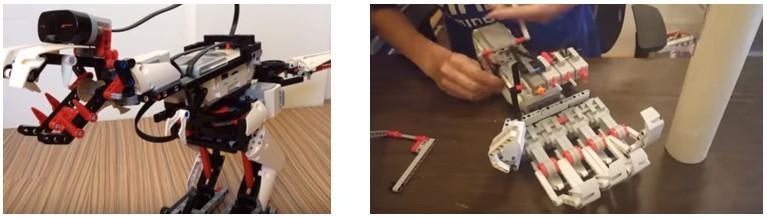 Si vas a comprar robots para niños, con Lego Mindstorms podrás hacer proyectos avanzados como estos. Pero no es buena opción para principiantes