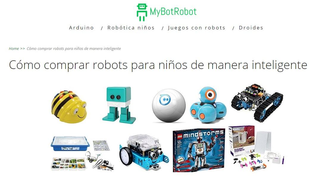 MyBotRobot Como comprar robots para niños de manera inteligente