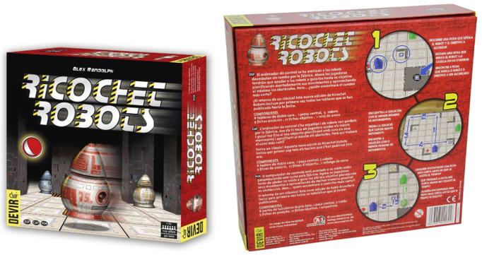 Juegos de robots de tablero para jovenes y mayores Ricochet Robots