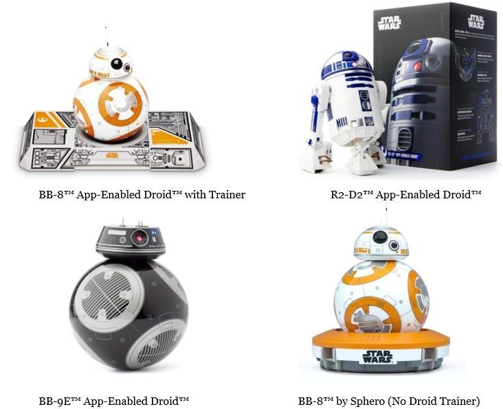 Imagen de la subcategoria dedicada a la compra de BB-8 Sphero de la web MyBotRobot