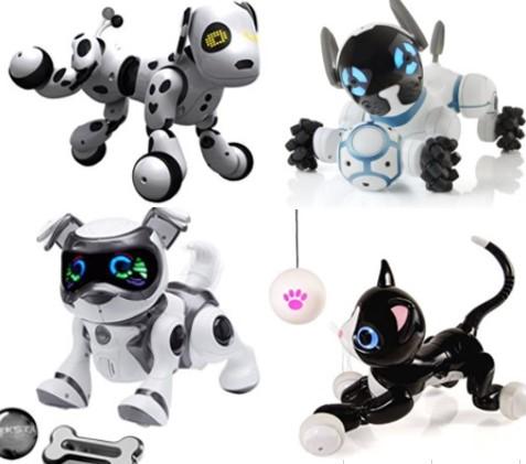 Imagen de la subcategoria sobre perros mascotas robot para niños de la web MyBotRobot