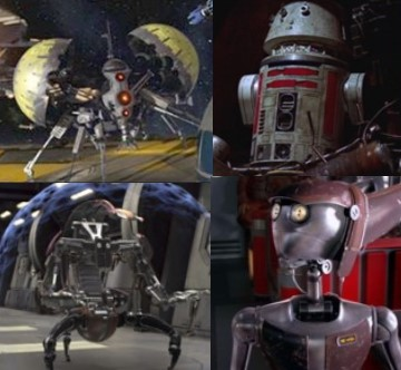 Imagen de la subcategoria sobre nombres de los robots Star Wars de la web MyBotRobot